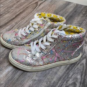 SUPER SPARKLY High Top Sneakers